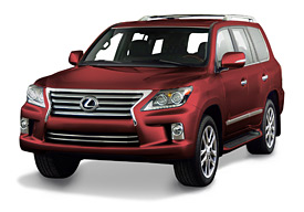 2013 Lexus LX570 noble spinel mica