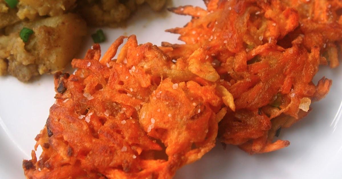 Michelle's tiny kitchen: Sweet Potato Fritters K Michelle 2013
