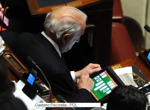 La trazzera in politica attivit parlamentare del pdl for Parlamentare pdl