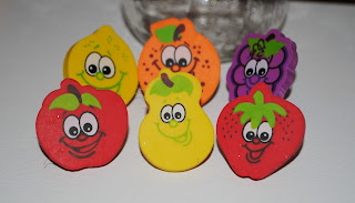 Fruit Erasers