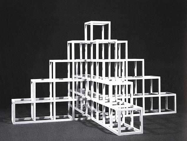Architectural grammar sol lewitt master of conceptualism for Minimal art sol lewitt
