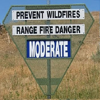 FIRE DANGER IS...