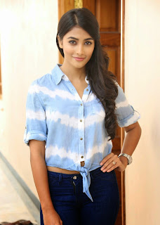Actress Pooja Hegde Latest Picture Gallery in Blue Jeans  28.jpg
