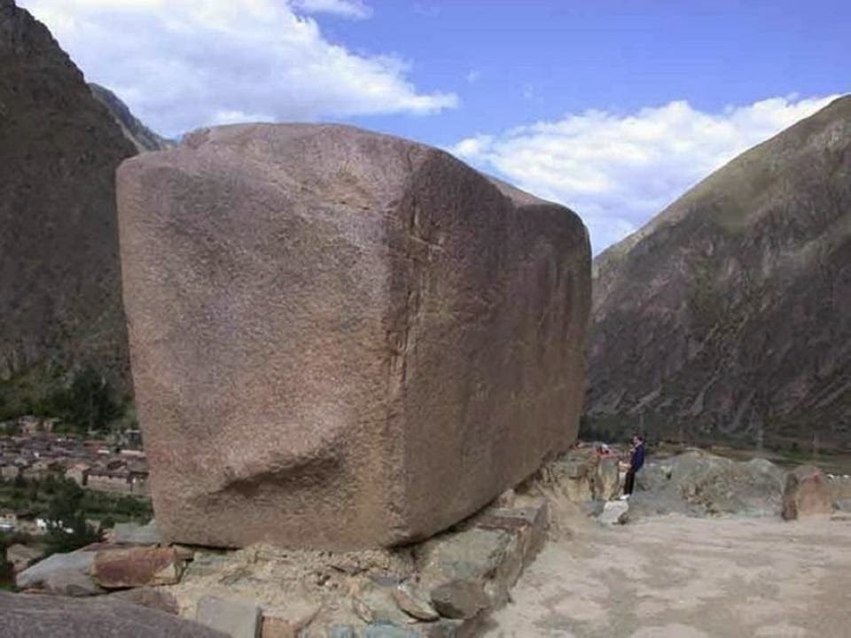 Huge Granite Stone : The largest blocks of stone ever discovered