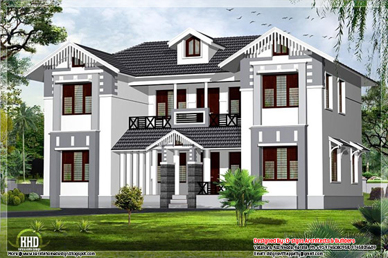 Indian home elevation