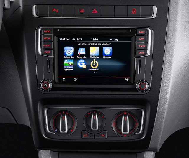 Novo VW Fox 2016 - sistema multimídia - App Connect