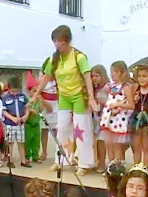 Isabel Camiña actuación en Aracena