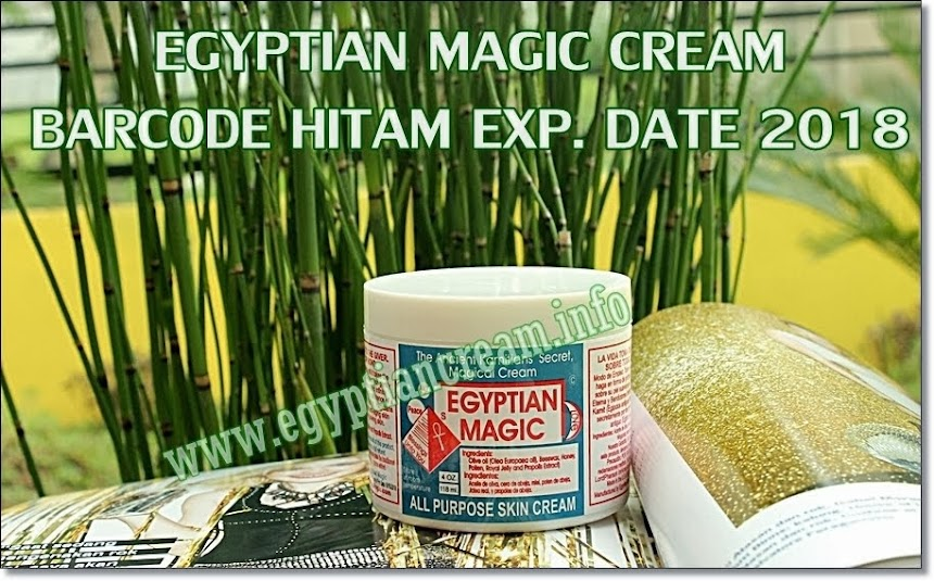Egyptian Magic Cream Barcode Hitam