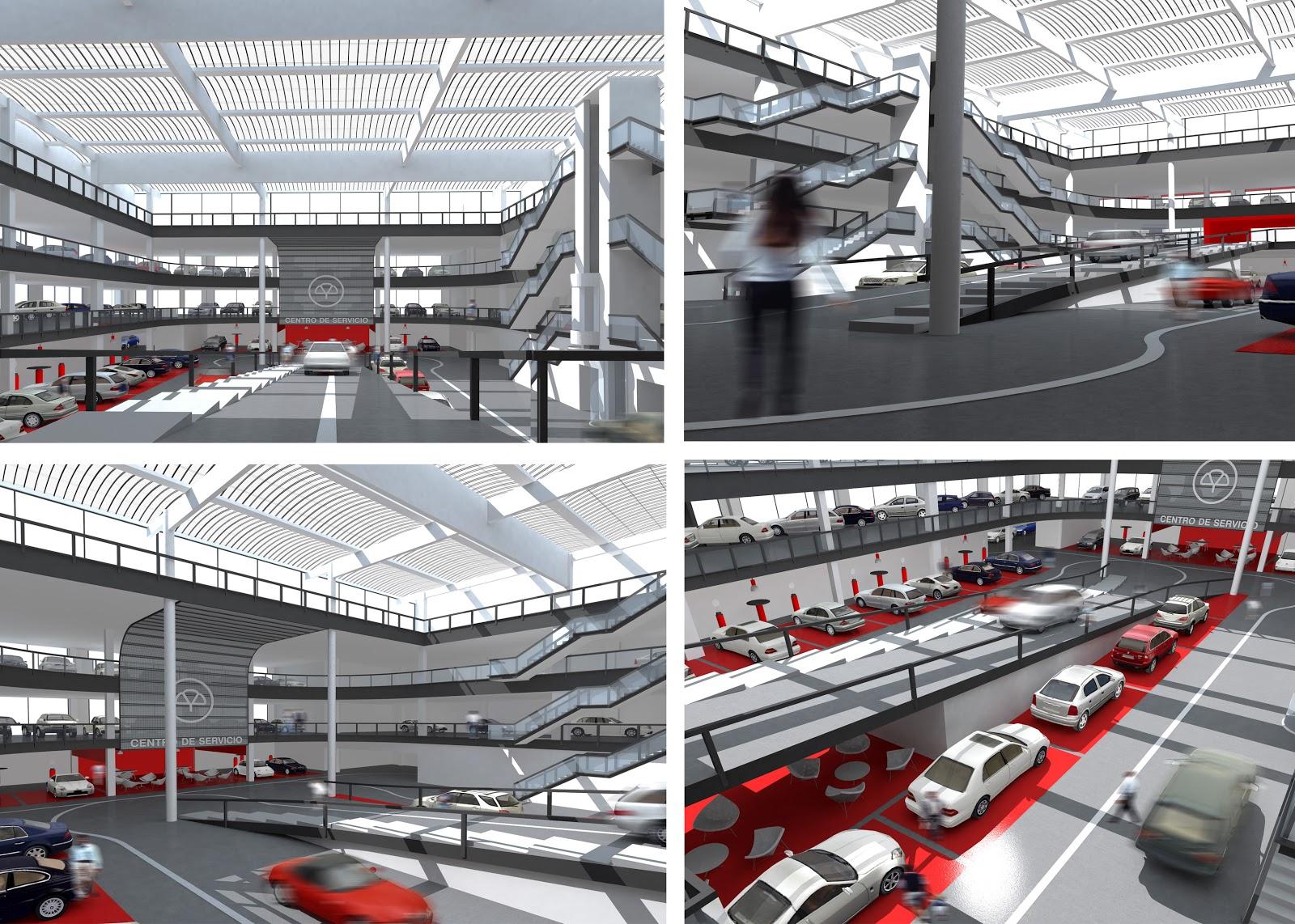 Centro Servicio del Automovil Mapfre, Rehabilitación de edificio, Arquitectura Singular, Arquitectura Industrial