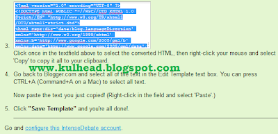 kulhead blog: comment luv plugin on blogger