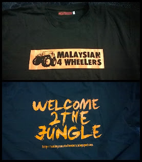 Malaysian 4Wheelers Limited Edition Tshirt for Sale