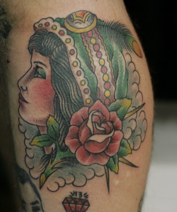 Gypsy Lady Tattoo Designs