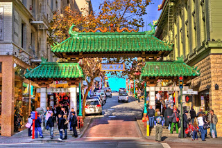 view of-China Town-gateway-entrance