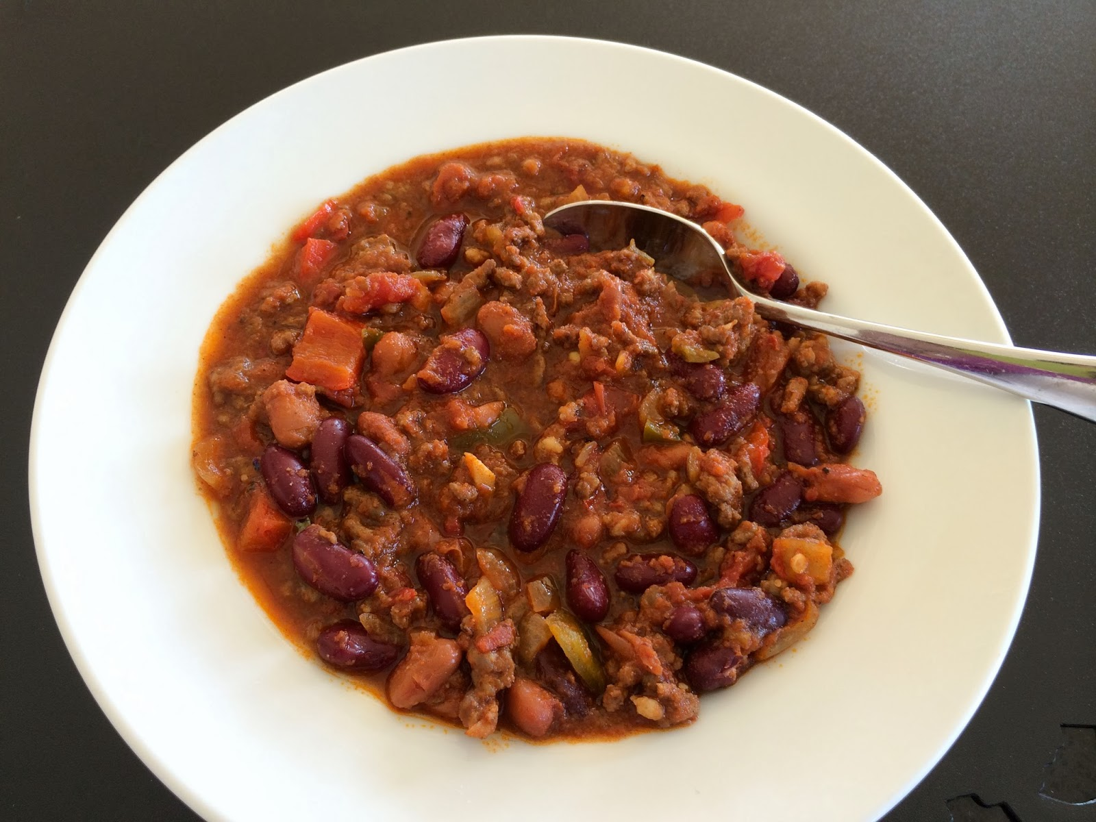 "Beefy, Hearty India Pale Ale ""Italian"" Chili 