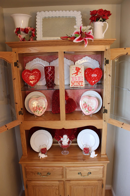 Valentine's Day China Cabinet