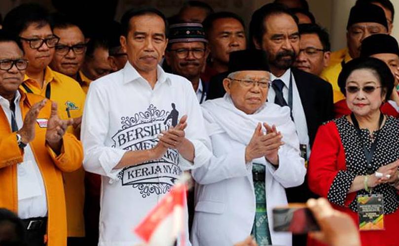 Tim Kampanye Jokowi-Ma'ruf Selesaikan Struktur TKD di 34 Provinsi