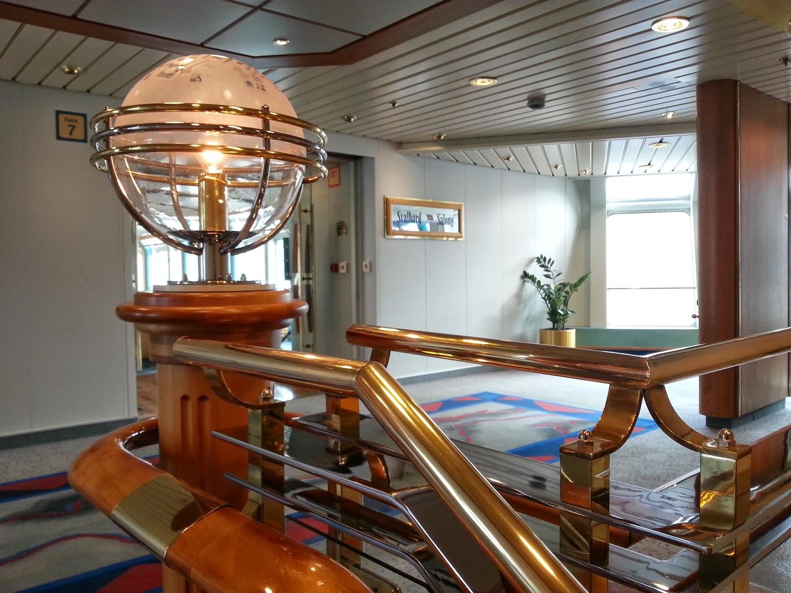 Hurtigruten MS Nordkapp - Stairwell