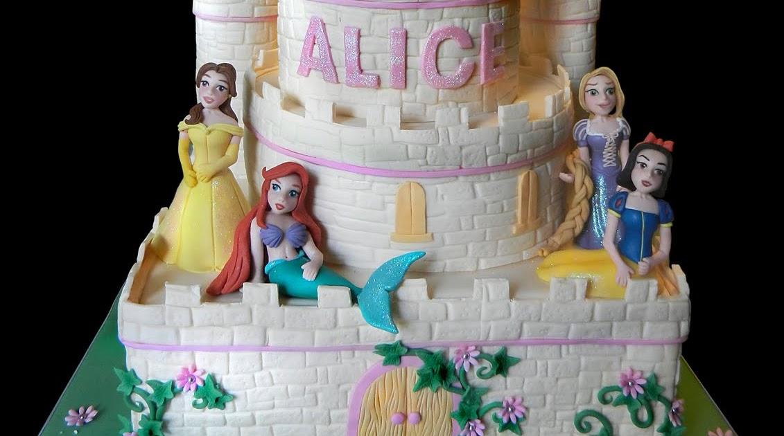 Il castello delle principesse disney - Letto delle principesse ...