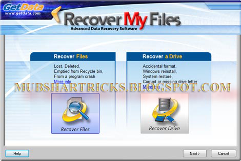 Free Software Download Recover My File By Mubshar KashmiRi 9/13/015