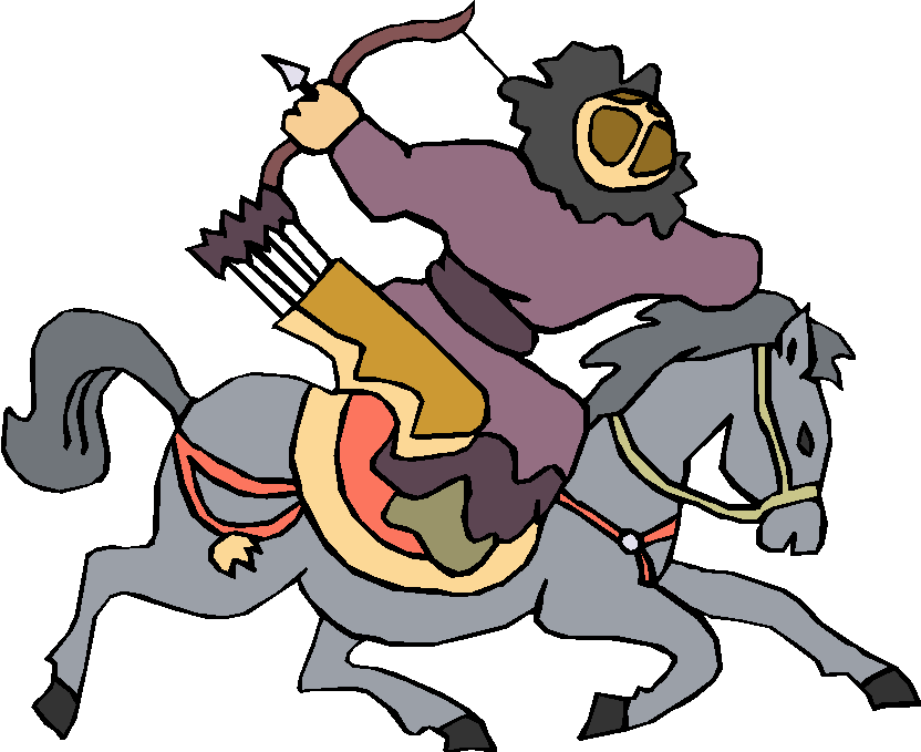 Archer Ride Horse Free Clipart
