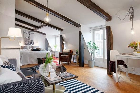 decoración apartamento muy pequeño
