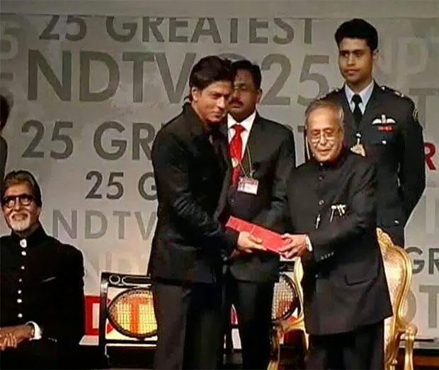 Shah Rukh Khan honored as a one of the greatest Living Legends of India