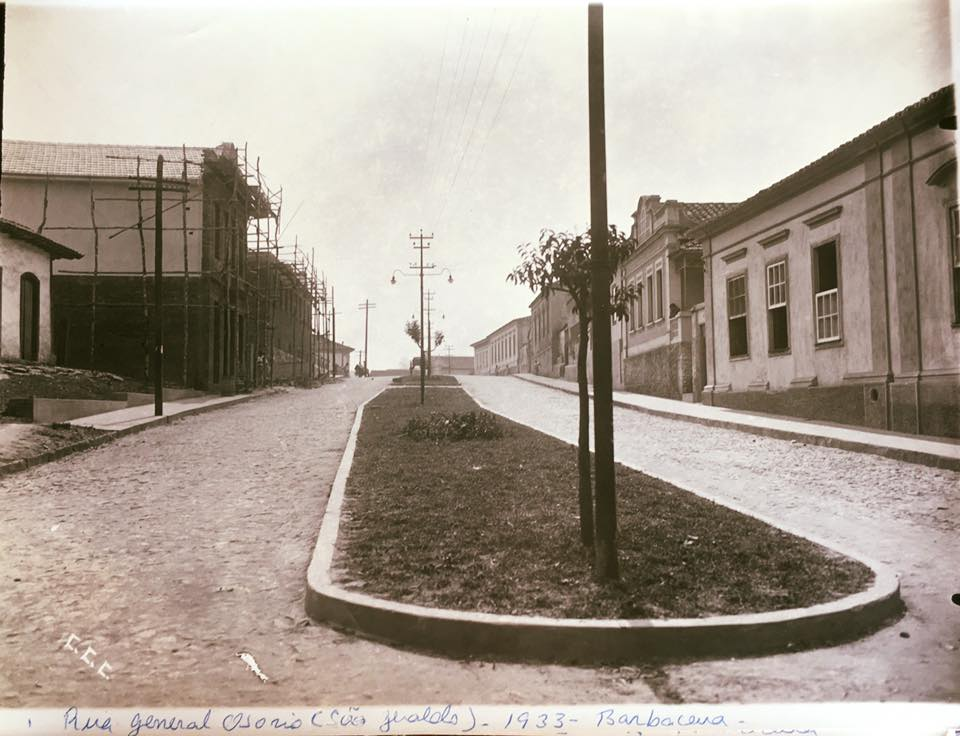 Rua Gal Osório de Barbacena MG 1933