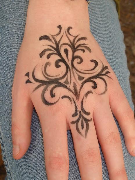 henna tatoo design