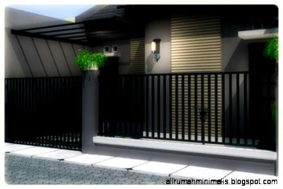 Gambar Pagar 2015   Foto Desain Pagar Desain Rumah Minimalis