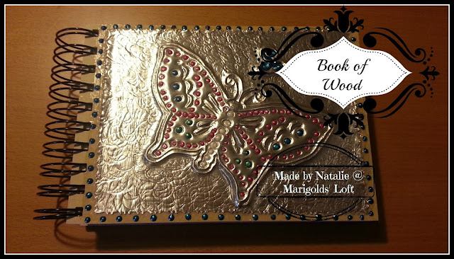 book of wood etsy handmade