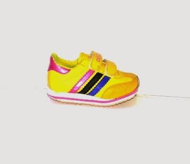 Sepatu Adidas Samba Anak kuning,ecer Sepatu Adidas Samba Anak