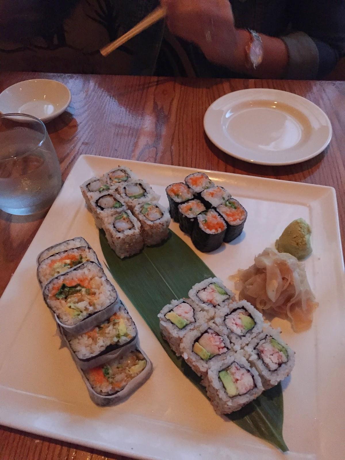 Sushi at Nobu