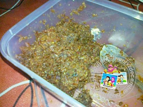 sambal hitam belimbing buluh  Pahang