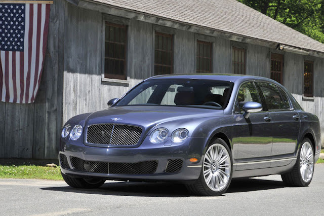 2012 Bentley Continental Flying Spur Speed Front Exterior