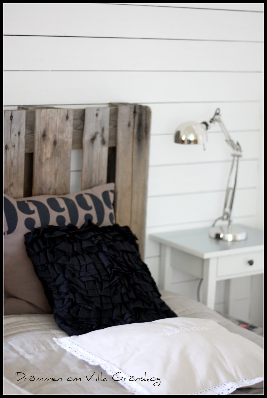 Drömmen om villa grönskog: sovrum.....