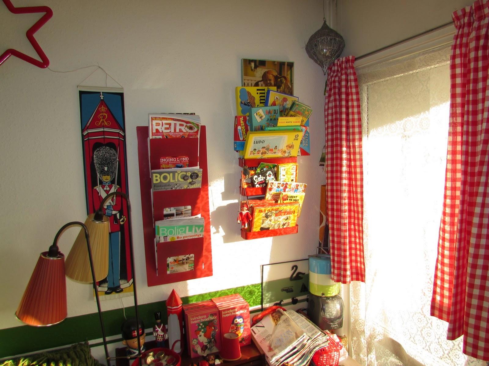 Karolines retro: kolonihavestemning i min stue!