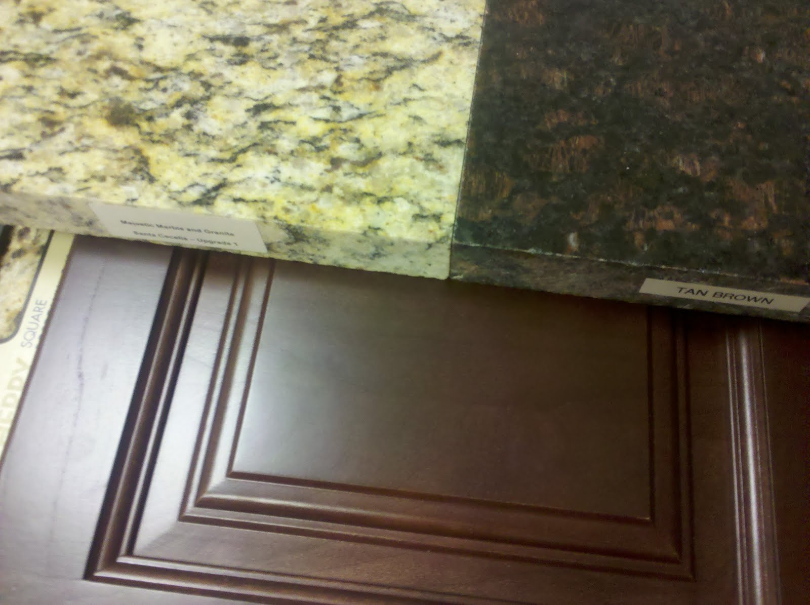 Ryan Home Tan Brown Granite