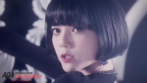 AOA Miniskirt Jimin teaser