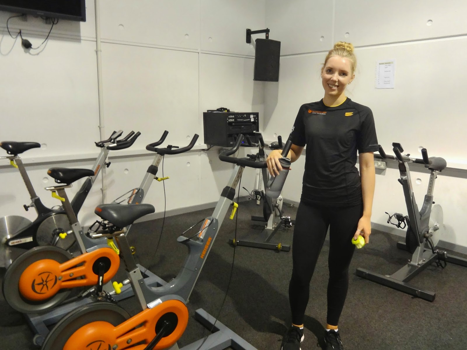 The Training Room Studio Cycling Qualification Natalie Goodchild