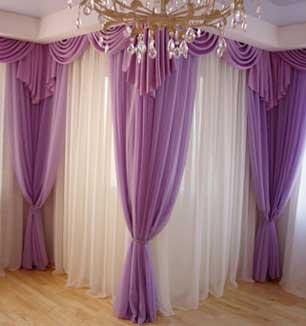 Как сшить шторы для спальни видео