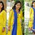 Swapna Yellow Salwar Kameez