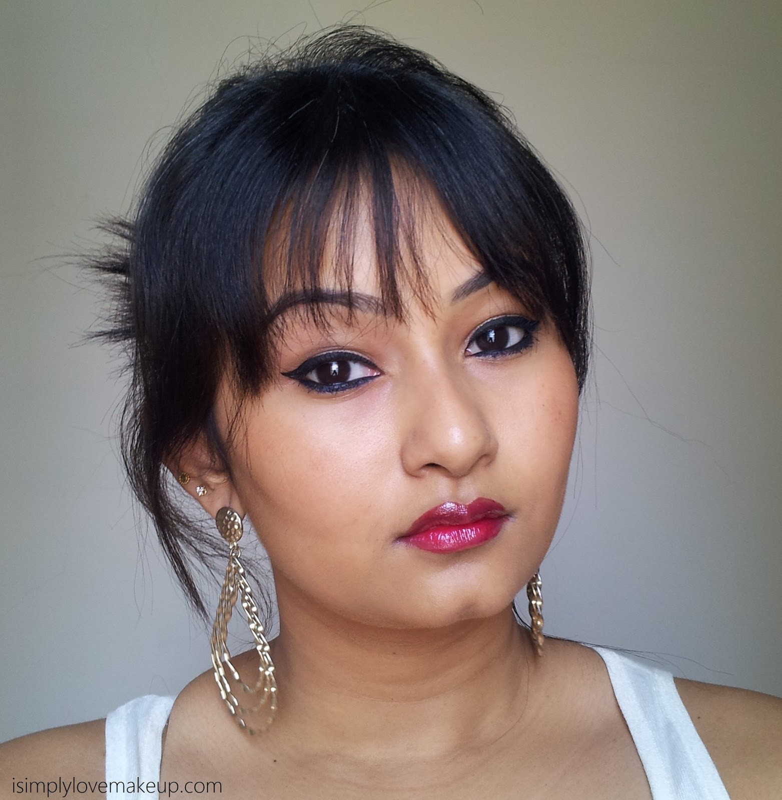 L'Oreal Paris Shine Caresse Lip Color in Eve - Swatches & Review