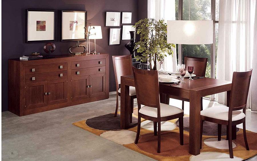 Tipos de madera y cuidados for Comedores rusticos modernos