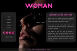 plantillas para blogger woman