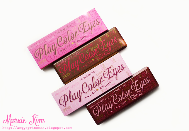 Etude House Play Color Eyes So Hot Play So Chic Play Review