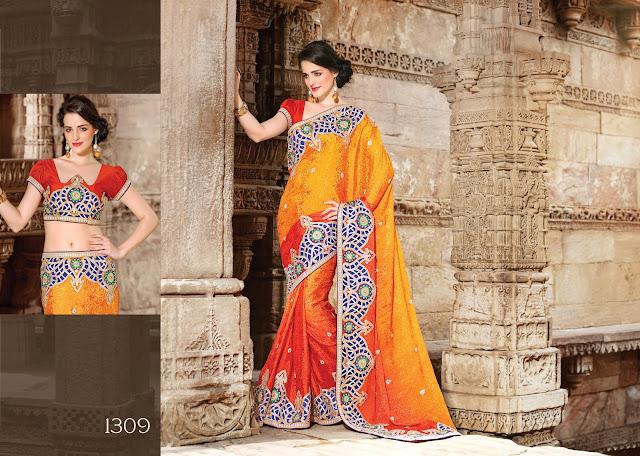 party wear saree,Designer Party Wear Saree,new designer saree,Exclusive Designer Partywear Sarees,Buy Party Wear Saree Online,Heavy Work Border Saree