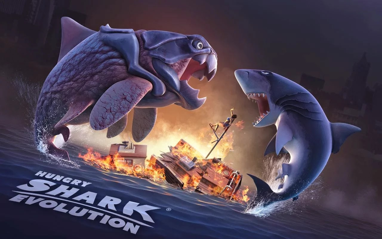 Hungry Shark Evolution v2.8.0 Mod