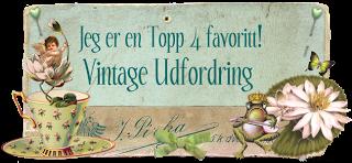 """Topp 4 hos """"Vintage udfordring"""""""