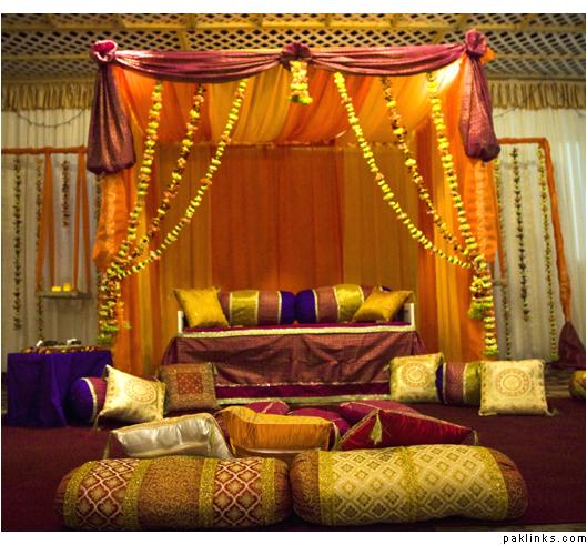Decoration Mille et une nuit ambiance orientale