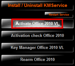 activate ms office 2010